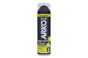 Піна для гоління Soothing hemp Arko Men 200мл