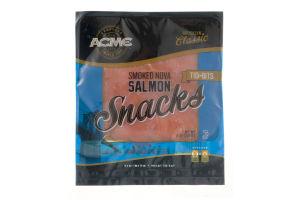 Acme Smoked Fish Smoked Nova Salmon Snacks Tid-Bits