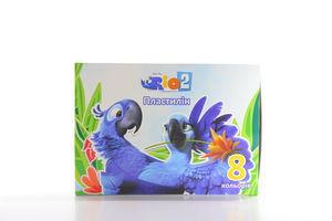 Пластилин Cool for School Rio 8 цветов к/у арт.RI00601
