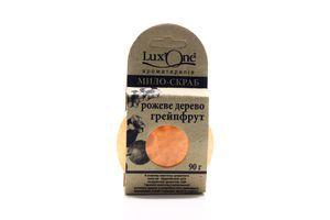 Мыло-скраб розовое дерево грейпфрут LuxtOne 90г