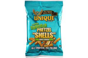 "Unique Flavor Shocked Pretzel ""Shells"" Tangy Ranch"
