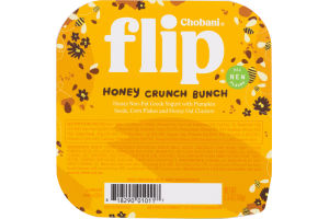 Chobani Flip Non-Fat Greek Yogurt Honey Crunch Bunch