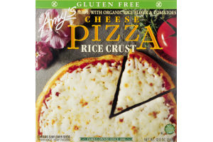 Amy's Pizza Cheese Rice Crust Gluten Free