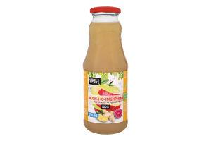Сік яблучно-імбирний неосвітлений пастеризований Sims Juice с/пл 330мл