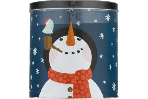 Gift Pop Popcorn Caramel, Cheddar, Butter Flavors Holiday Tin