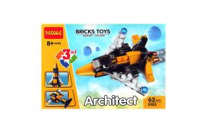 Іграшка Architect конструктор Повітр. транспорт арт.3103 х6
