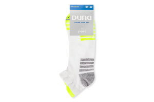Шкарпетки чоловічі Duna Sport №7014 25-27 білий