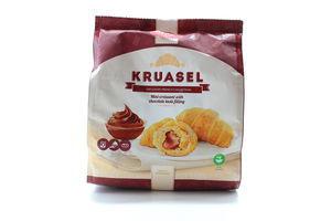 Міні-круасани Kruasel зі смаком шоколаду 180г x10