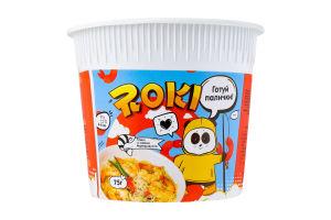 Рамен быстрого приготовления со вкусом морепродуктов Roki ст 75г
