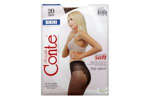 Колготки Conte Bikini 20den 2 Bronz