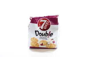 Мини круассаны с двойной начинкой Ваниль-вишня Double 7 Days м/у 65г