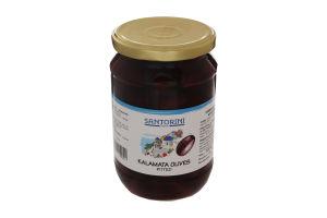 Оливки без косточки Каламата Santorini Dream c/б 700г