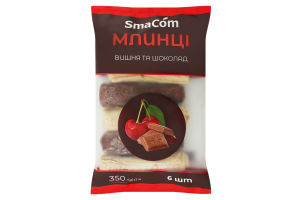 Млинці з вишнею та шоколадом 0,350 кг