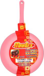 Сковорідка з кольоровим керамічним покриттям 26см №26-203-027 Martex 1шт