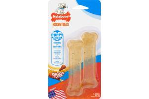 Nylabone Essentials Puppy Chew Chicken Flavor