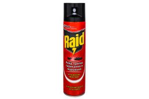 Средство инсектицидное против тараканов и муравьев Raid 300мл