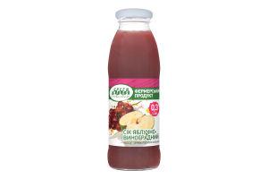 Сок яблочно-виноградный Green Hills с/б 0.3л