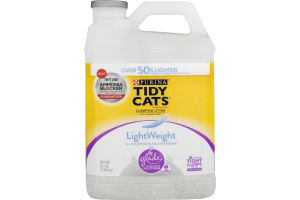 Tidy Cats Tight Clumping Lightweight Cat Litter with Glade Clean Blossoms
