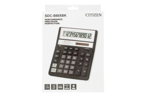 Калькулятор №SDC-888 Citizen 1шт