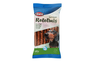 """Ласощі для собак """"Rotolinis"""" з м'ясом домашніх птахів 120 г (12 шт.),3171,Trixie"""