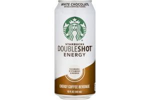 Starbucks Doubleshot Energy Coffee Beverage White Chocolate