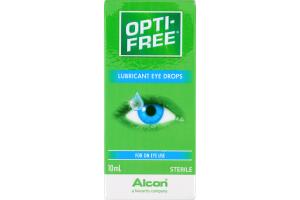 Opti-Free Lubricant Eye Drops