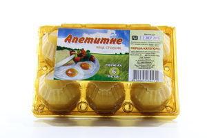 Яйцо куриное столовое С1 Аппетитное 6шт