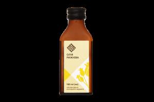 Олія рижієва Лавка традицій холодного віджиму нерафінована, 100 мл