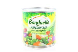 Смесь овощная Македонская Bonduelle ж/б 400г