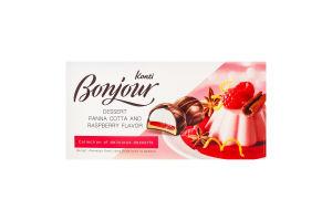 Десерт Пана-кота та малина Bonjour Konti к/у 232г
