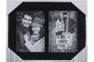 Home Profiles 3 1/2 x 5 Picture Frame Black