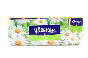 Хусточки Kleenex Aroma космет.3-шар. 21*20см 10шт х28