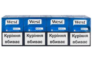 сигареты west blue купить в