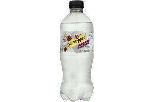 Schweppes Sparkling Water Beverage Black Cherry
