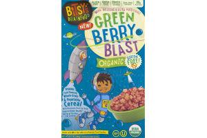 Bitsy's Brainfood Organic Cereal Green Berry Blast