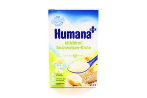 Каша Humana молочна гречана з грушею 250г x5