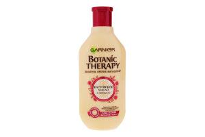 Шампунь для волос против выпадения Касторовое масло и миндаль Botanic Therapy Garnier 400мл