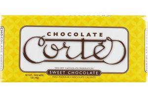 Chocolate Cortes Sweet Chocolate
