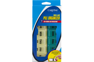 CareOne Twice-A-Day Pill Organizer