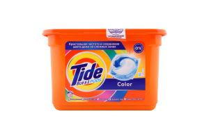 Средство моющее синтетическое жидкое в растворимых капсулах Color Все в 1 Pods Tide 18х22.8г