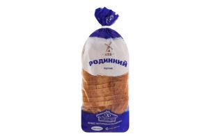 Хліб нарізний Родинний Теремно м/у 0.6кг