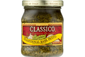 Classico Sauce & Spread Signature Recipes Traditional Basil Pesto