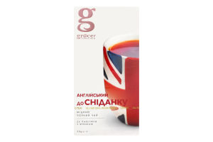 Чай черный English Breakfast Bestseller Gr@ce к/у 25х2г