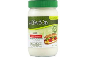 Wildwood Zesty Garlic Aiolo Mayo Alternative