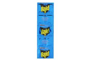 Пластины от комаров на алюминиевой основе Raid 10шт