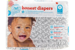 The Honest Co. Honest Diapers Size 4 - 29 CT
