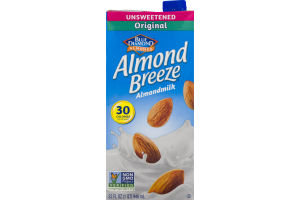 Blue Diamond Almonds Almond Breeze Almondmilk Unsweetened Original
