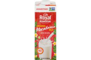 Royal Hawaiian Orchards Macadamia Milk Original