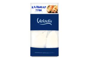 Кальмар тубы мороженый глазированный Veladis кг