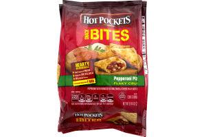 Hot Pockets Snack Bites Pepperoni Pizza Flaky Crust